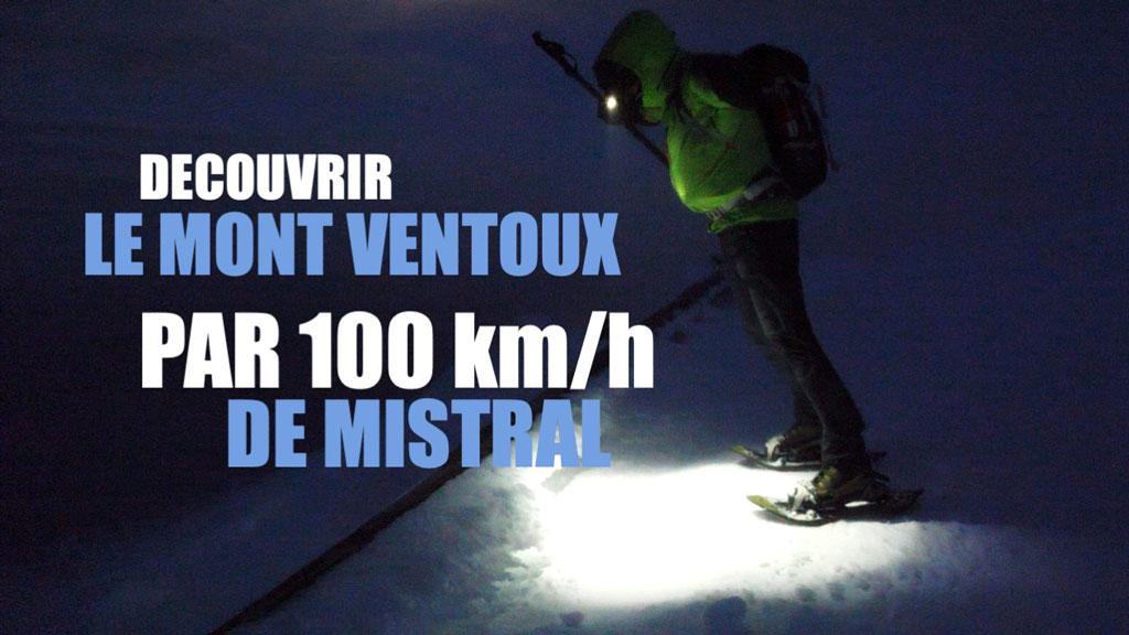 Découvrir le Mont Ventoux par 100km/h de mistral